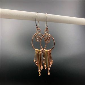 Unique kinetic earrings!